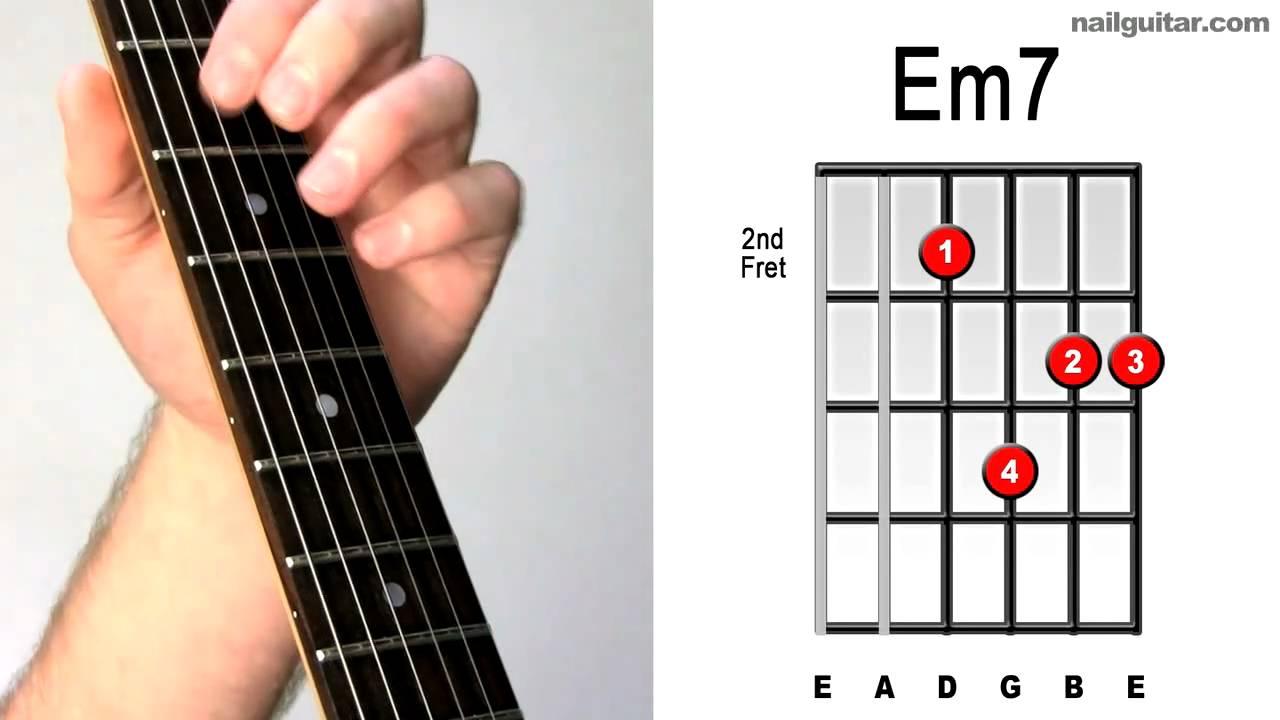 E minor 7 quick easy tutorial electric guitar chords e minor 7 quick easy tutorial electric guitar chords lesson hexwebz Choice Image