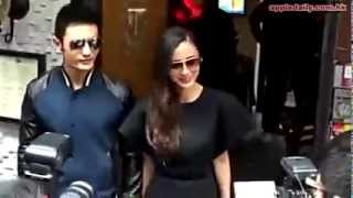 Huang Xiao Ming 黄晓明 | Huang Xiaoming surprising Angelababy for her 25th birthday