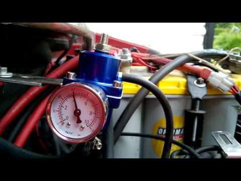 Race.fi Bensanpaineensäädin Ebay Universal Fuel Pressure Regulator