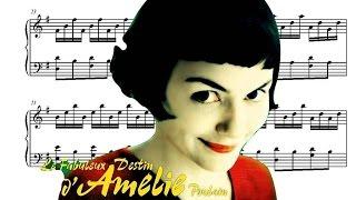 Amélie Piano Soundtrack - Comptine d'Un Autre Été (Movie Sheet Music)