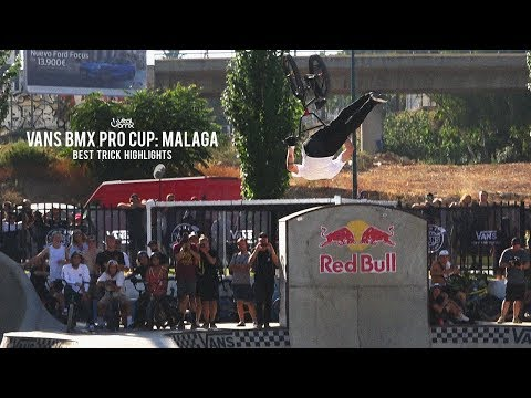 2018 Vans BMX Pro Cup: Malaga - Best Trick Highlights