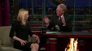 Renee Zellweger on Letterman