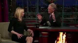 Renee Zellweger on Letterman