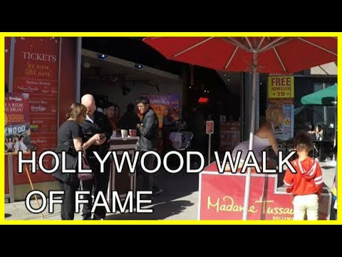 Hollywood Boulevard, Los Angeles, USA | Walking Tour