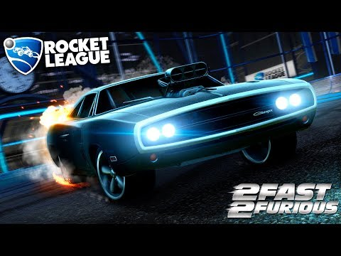 NOVO CARRO DODGE CHARGER + HITBOX - Rocket League