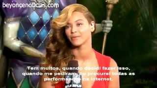 Beyoncé segunda coletiva de imprensa do Super Bowl- Legendado em português