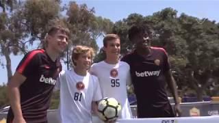 Football Tennis: Coric & Bianda face off!