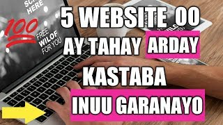 Download lagu 5 WEBSITE OO AY TAHAY ARDAY KASTAABA INUU GARANAYO