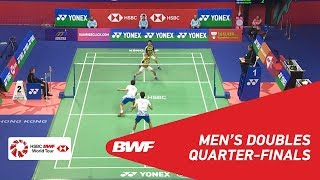 Download Video QF | MD | GIDEON/SUKAMULJO  (INA) [1] vs KIM/LEE (KOR) | BWF 2018 MP3 3GP MP4