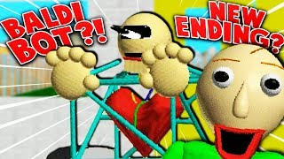 NEW MYSTERY ENDING?! (What does it mean...?) | Baldi's Basics (1.3 Update + Ending) thumbnail