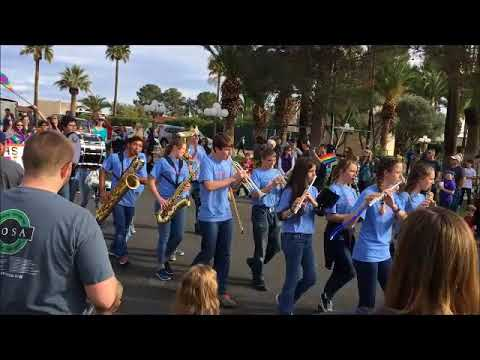 2018 Corona Foothills Middle School Marching Band - Inaugural Event