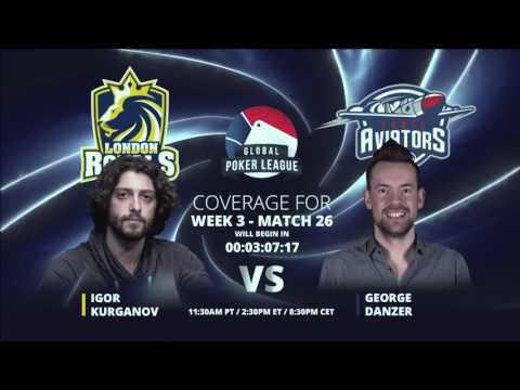 Replay: GPL Week 3 - EurAsia Heads-up: Igor Kurganov vs. George Danzer - W3M26