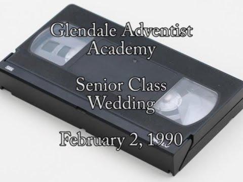 1990 - Glendale Adventist Academy Senior Class Wedding