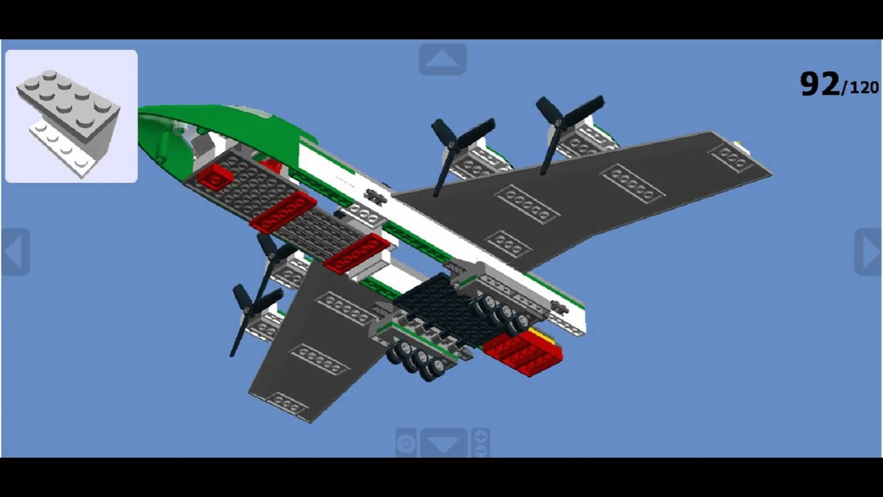 lego airplane instructions 3181