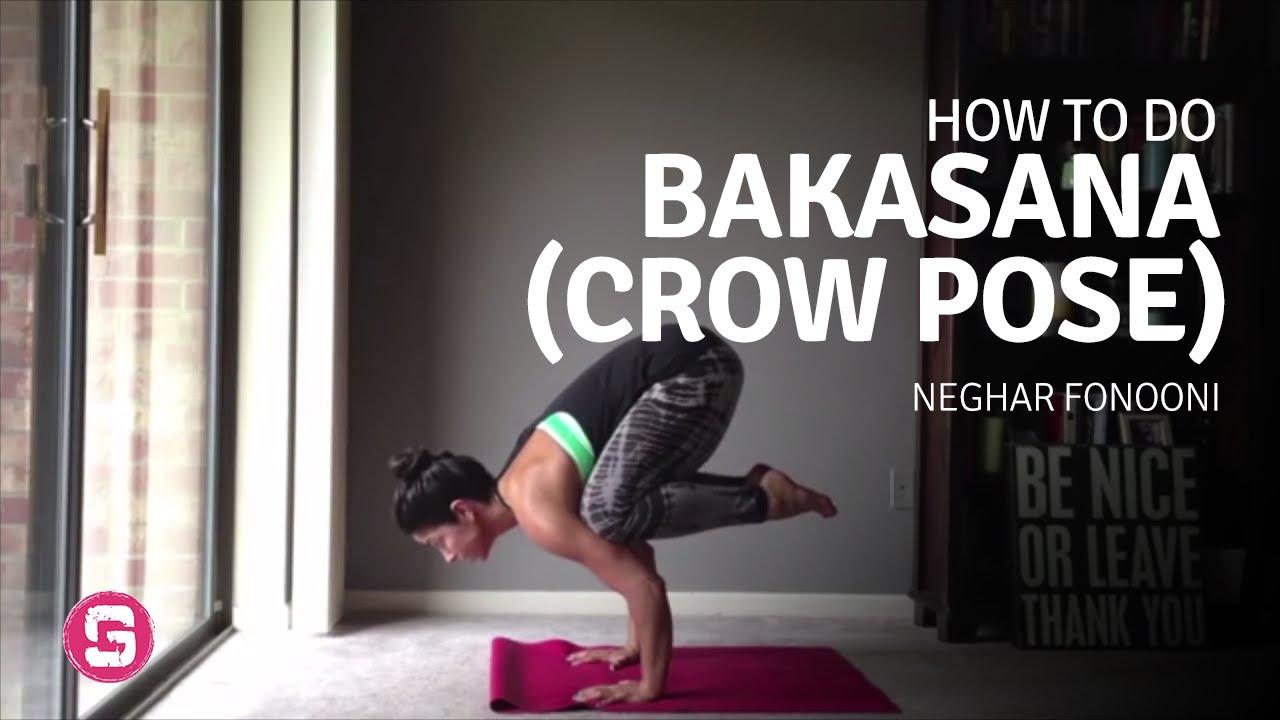 Bakasana crow pose How To Do Bakasana - YouTube