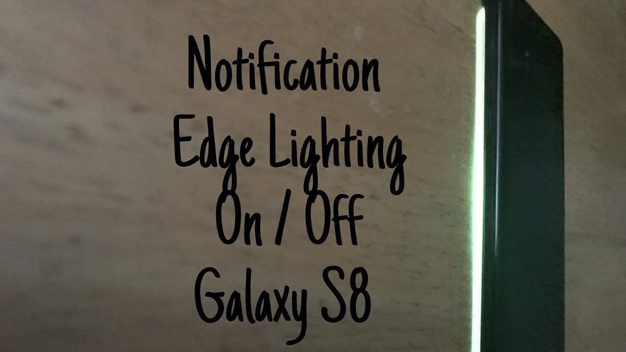Edge Lighting notification Feature - Beta Team - Xiaomi MIUI