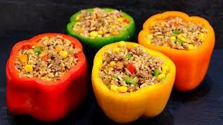 Вкуснее еще не пробовала! Перец по-мексикански – доступный и очень вкусный рецепт!