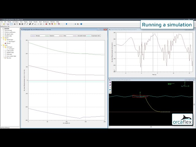 Introduction to OrcaFlex 4: running a simulation