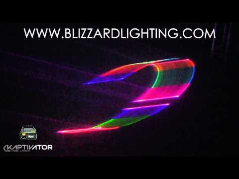 Kaptivator™ 3D RGB Laser