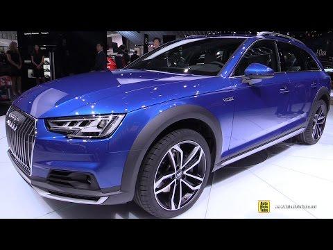 2017 Audi A4 Allroad Quattro - Exterior and Interior Walkaround - Debut at 2016 Detroit Auto Show