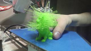 Hairy Lion 3d Print