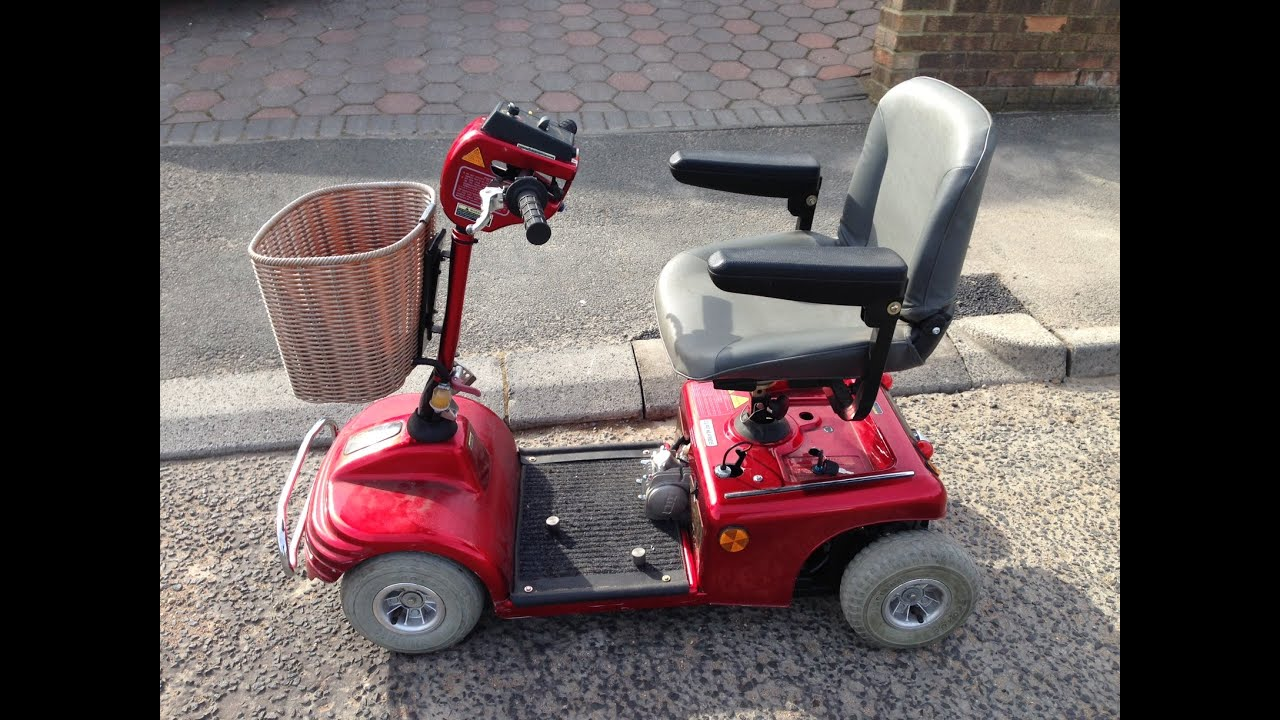 Mobility scooter with 125cc engine fitted