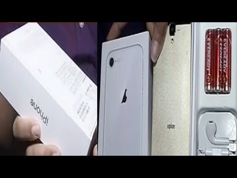 Man orders iPhone 8 from online shopping site, receives a dummy phone