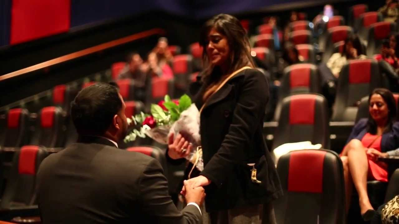 Image result for Romantic Ways To Propose in a movie