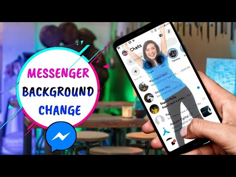 How To Change FB Messenger Background