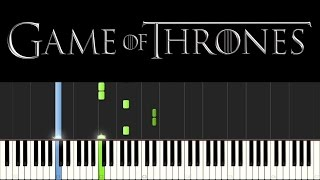 Game of Thrones - Light of the Seven (Piano Tutorial + sheets)