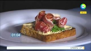 Готовим итальянский завтрак - брускетту! Рубрика Пора завтракать.