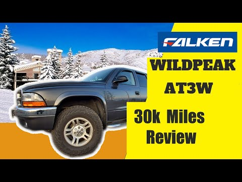 Falken WildPeak AT3W review || 30k miles Dodge Dakota Update