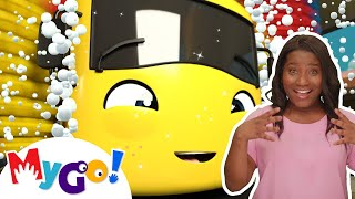 Carwash Song | +More Baby Songs | ASL - American Sign Language | Little Baby Bum