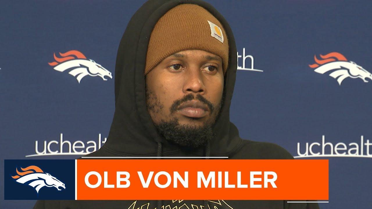 edd6b56f Von Miller on Phillip Lindsay at Pro Bowl: 'I Got a Room for Him'   Denver  Broncos