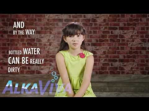 Kids on drinking Ionized Water ... Ionized water benefits over tap & bottled water!