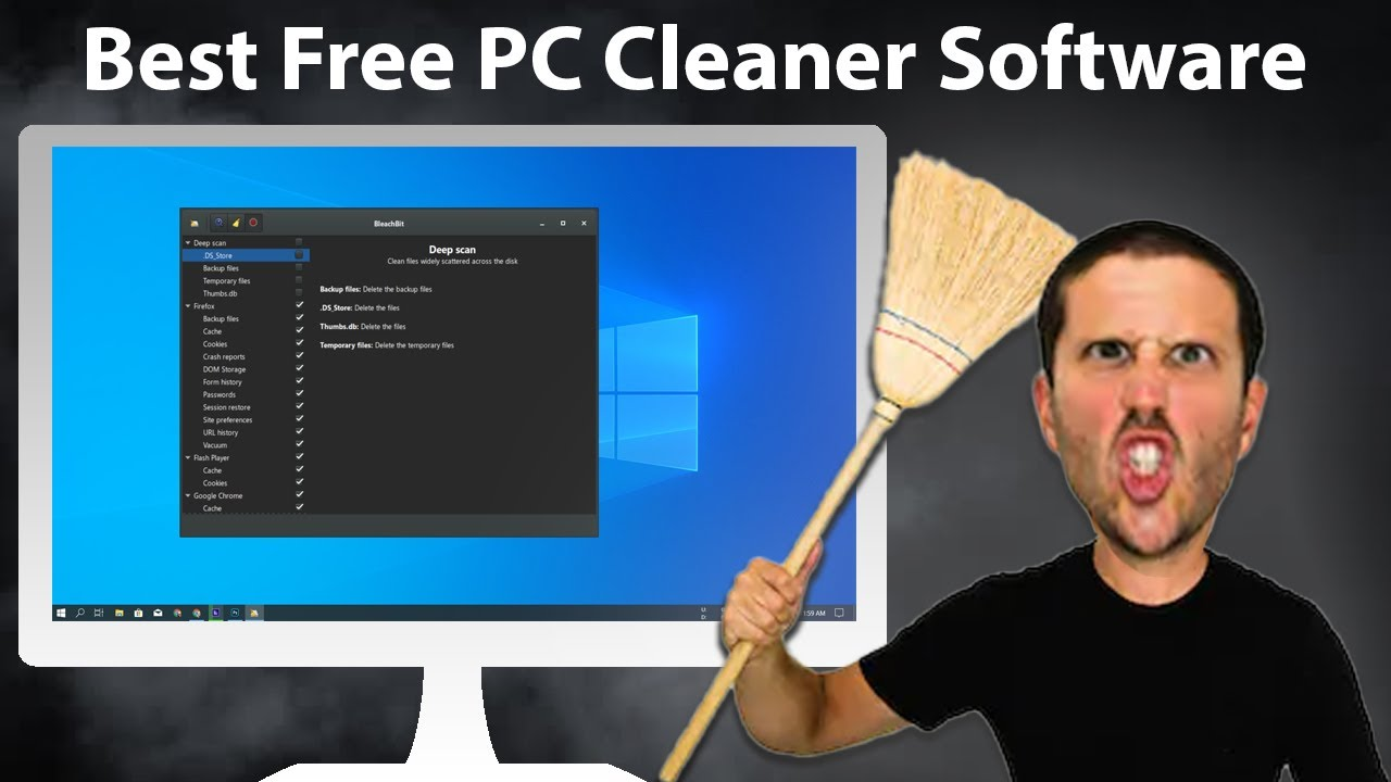 Best Pc Cleaner Software For Free 2020 Youtube