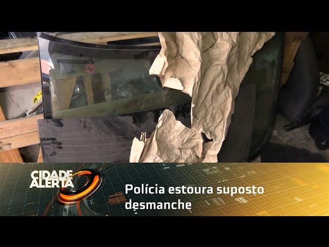 Polícia estoura suposto desmanche de carros no Prado