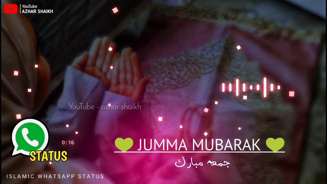 Jumma Mubarak Whatsapp Status Tiktok Jumma Mubarak Status 2020