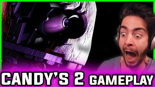 FIVE NIGHTS at CANDY'S 2 BLANK'S SCARE Time | Five Nights at Candy's 2 Gameplay Night 3 and Night 4