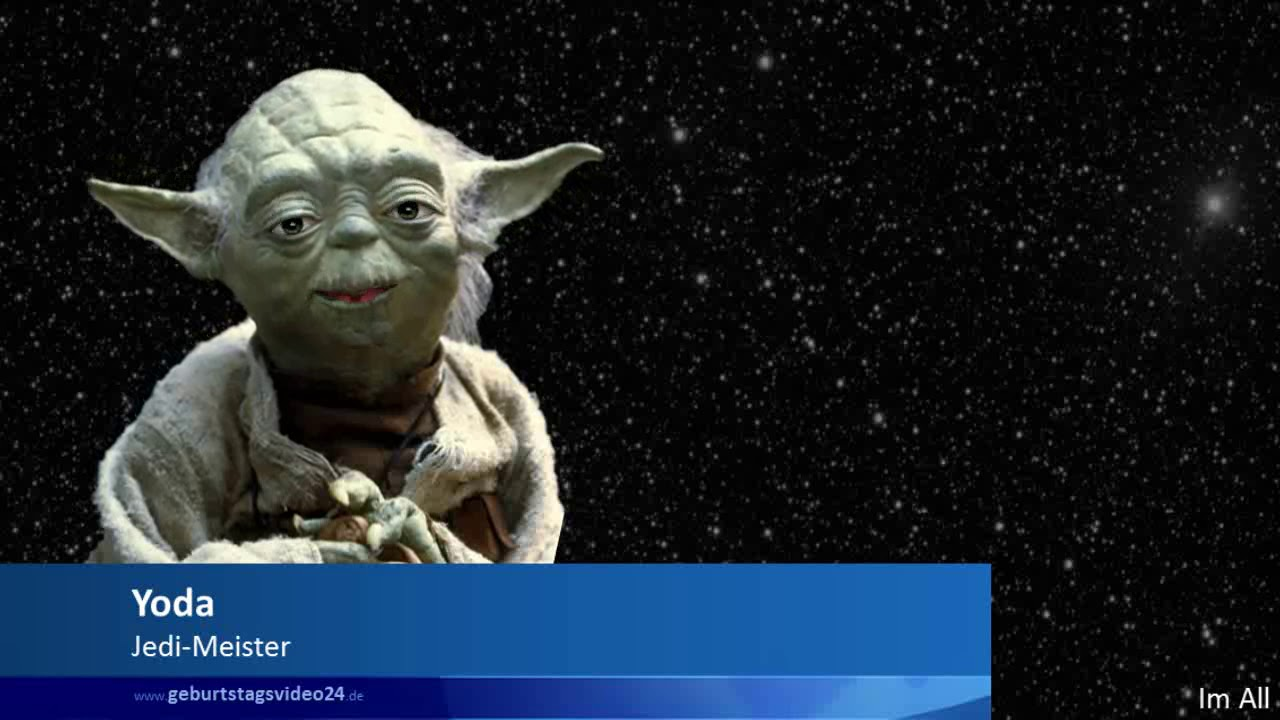 Yoda Zum Geburtstag Gratuliert Youtube