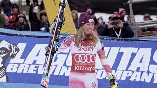 Mikaela Shiffrin Takes On Super G | In Search of Speed