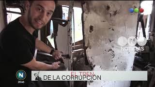 Escenarios: el tren de la corrupción - Telefe noticias
