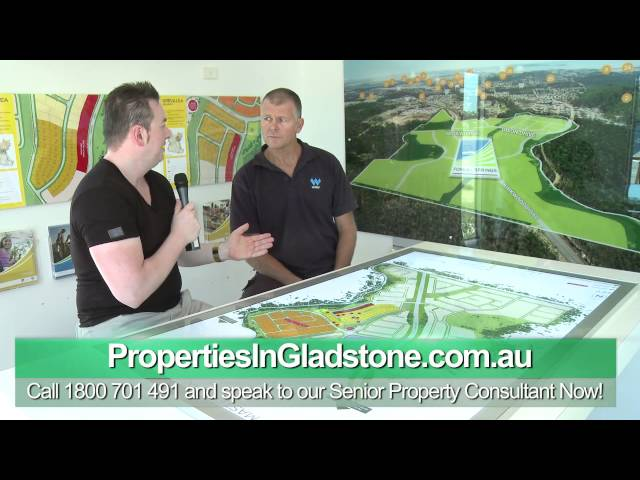 Konrad Bobilak interviews Developer of Forest Springs Estate in Gladstone (By Konrad Bobilak)