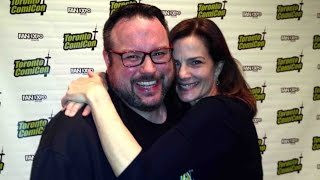 Geek Hard @ Toronto ComiCon 2015: Part 1 (featuring Terry Farrell, Aaron Ashmore and MORE!)
