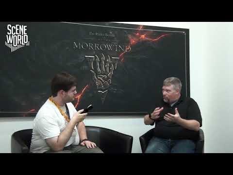 Gamescom 2017 - Elder Scrolls Online Morrowind - Interviewing ZeniMax Online Studios CEO Matt Firor