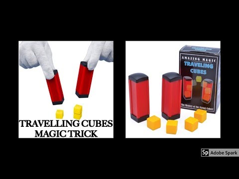 ONLINE TAMIL MAGIC I ONLINE MAGIC TRICKS TAMIL #621 I TRAVELLING CUBES