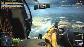 Battlefield 4: Engineer Vehicle Passenger Fun! (Never Settle)