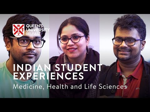 Indian Student Experiences - Faculty of Medicine, Health and Life Sciences
