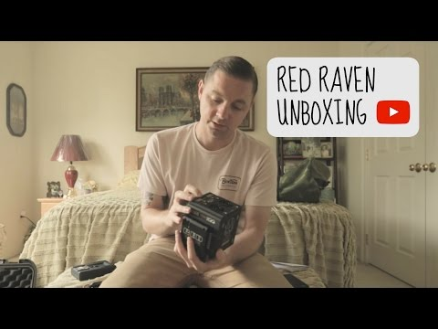 RED Raven Unboxing