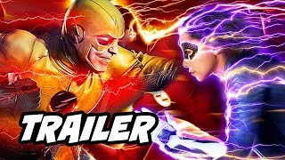 The Flash 5x10 Promo - Reverse Flash Nora Season 5 Finale Theory